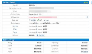 Clixsense review earning proof make money online