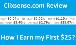 Clixsense.com Review – How I Earn my First $25 from India