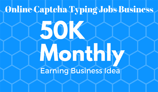 Online-Captcha-Typing-Jobs-Business in India
